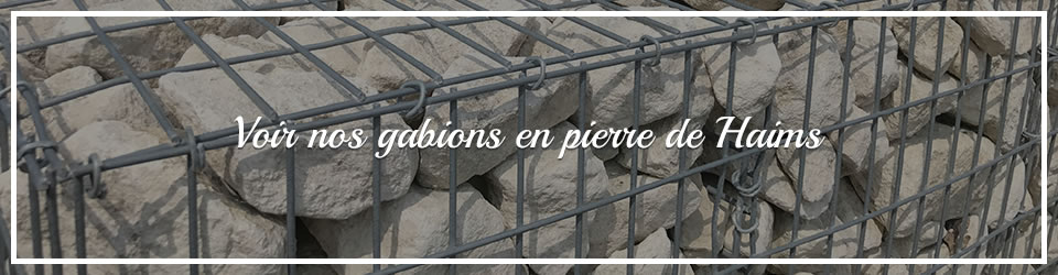 Maquignon - Nos gabions en pierre de Haims