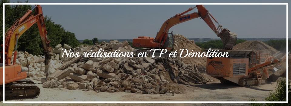 Maquignon - Réalisations TP et Démolition