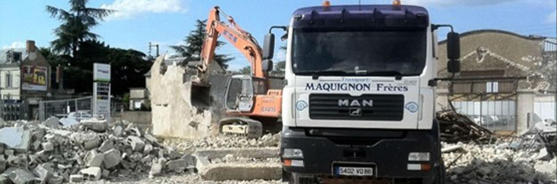Maquignon - Travaux de démolition